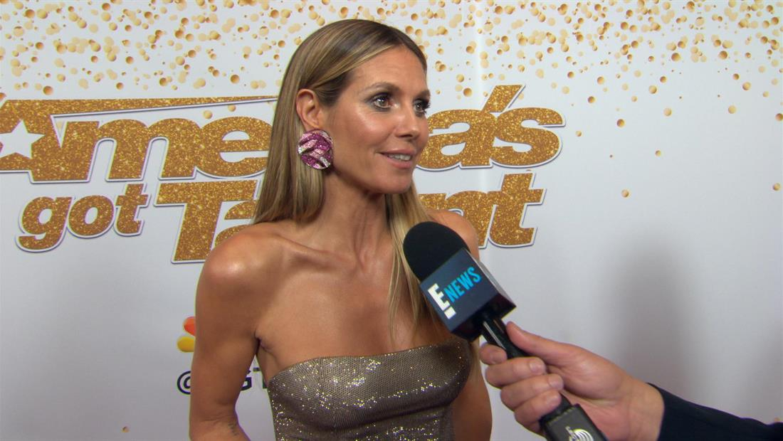 Heidi Klum & AGT Judges on PCA Noms